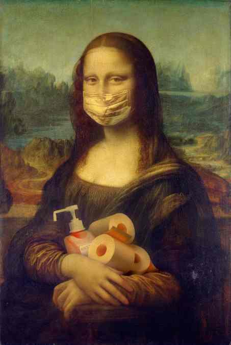 Mona Lisa - Coronavirus