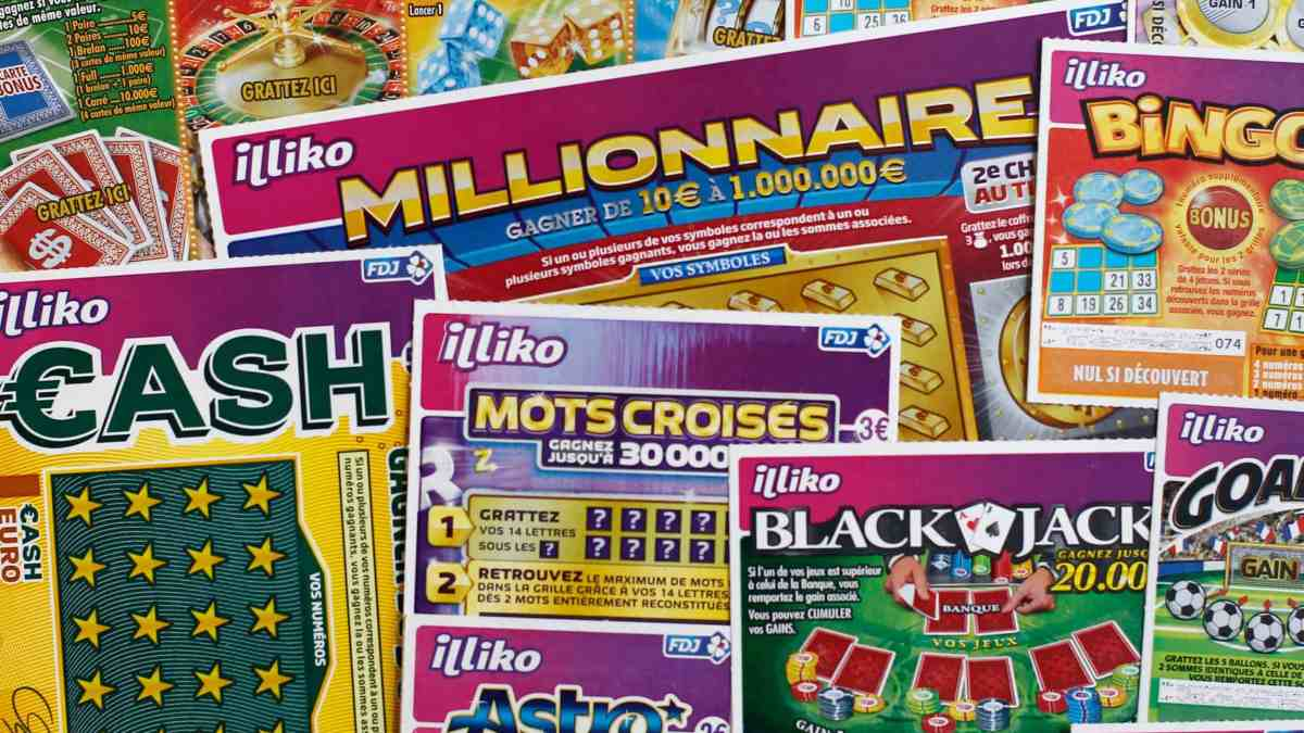 Illinois State Lottery - Scratchcard