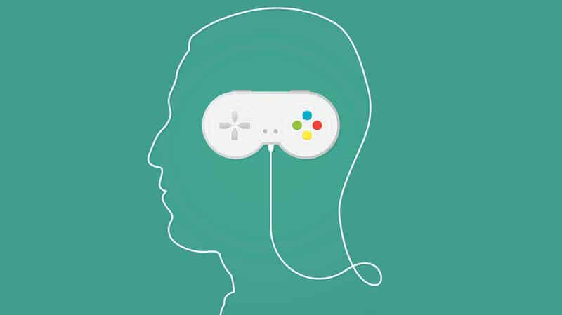 Video game addiction - Action game