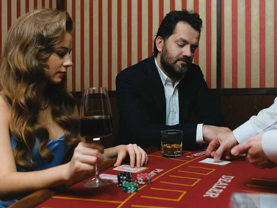 man people woman casino